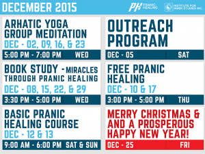 Institute For Inner Studies Inc. - December Events