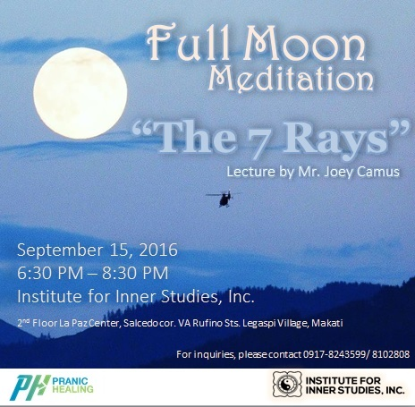 Full Moon Meditation Sept 2016