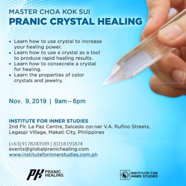 Institute for Inner Studies, Inc  – Modern Pranic Healing